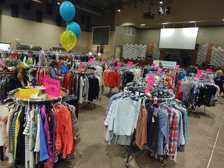 The 2 Mustard Seeds Women's Resale  Event was a Great Success!