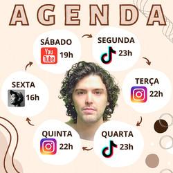 Agenda de Lives