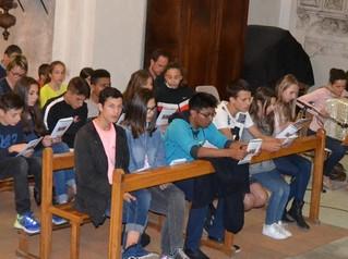 Semaine Sainte entre jeunes et paroisse