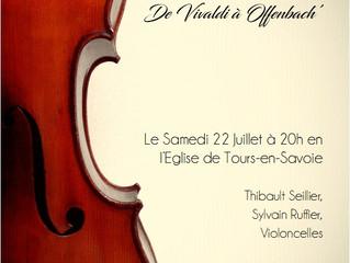 Concert à l'église de Tours