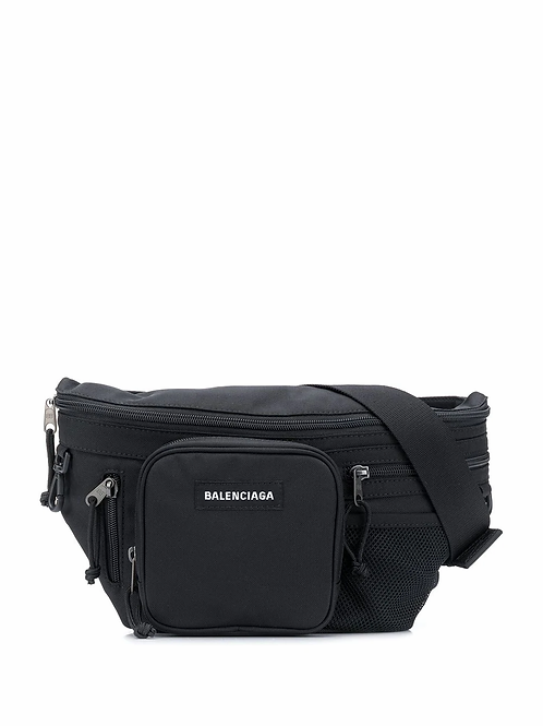 Balenciaga Explorer multi-zip belt bag