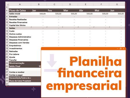 Fluxo de Caixa e Planilha Financeira: o que tem a ver e como usá-los!