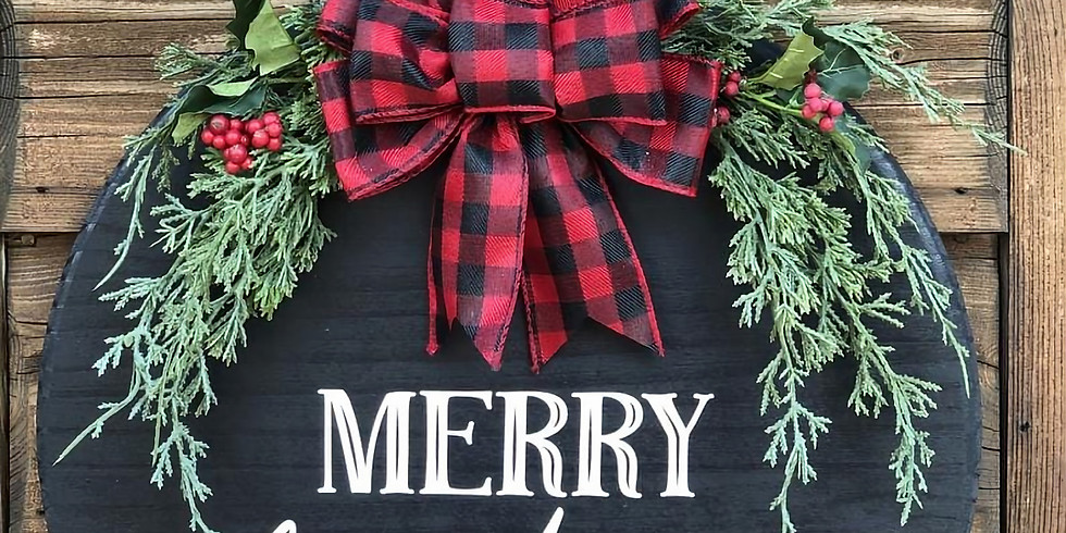Holiday Mix up and Wooden Wreaths