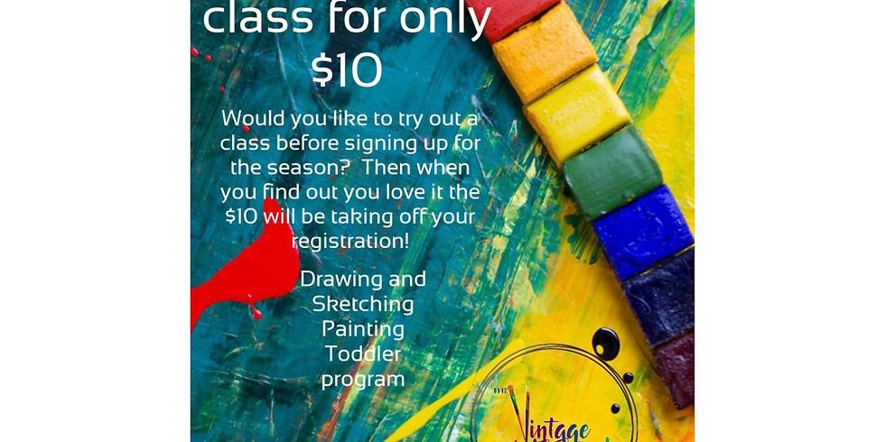 $10 Trial Classes