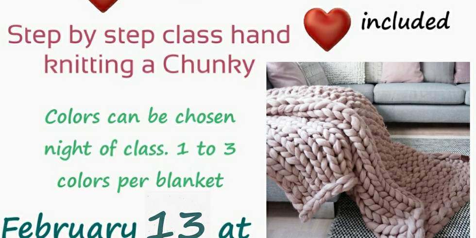 ***Sold Out***Chunky Blankets for Adults