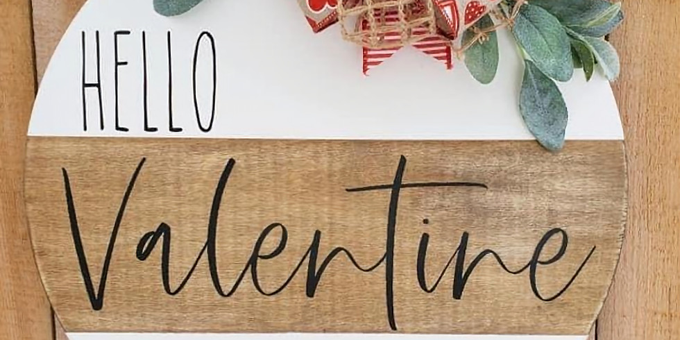 ***SOLD OUT***Valentine's Day Pallets in person or virtual