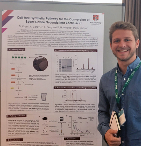 Dominik attends the Metabolic Engineering Conference in Germany