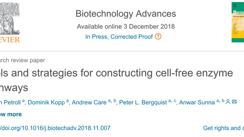 Latest publication from the Sunna lab