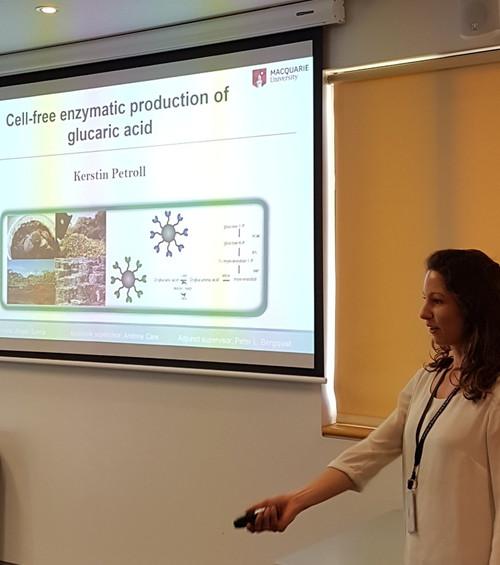 Kerstin's final PhD project presentation