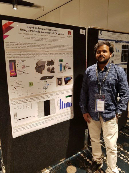 Vinoth's Conference Poster