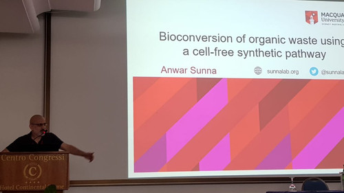 Anwar presented at Extremophiles 2018