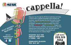 A cappella!