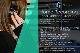 Home Recording Workshop