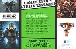 Gamer-Geek's String Ensemble