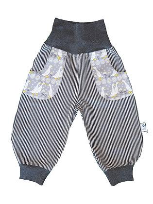 Jeans-Pumphose - Gänse /Pants Geese