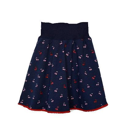 Jersey-Jupe Kirschen/ Jersey skirt Cherries