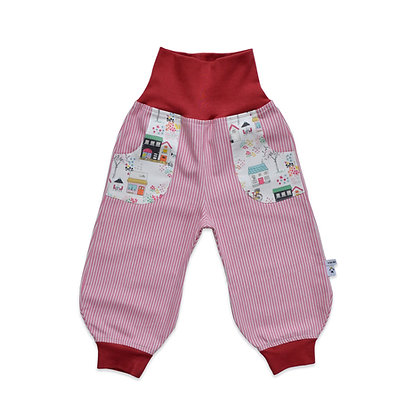 Jeans-Pumphose - Gartenträume /Pants - Garden dreams