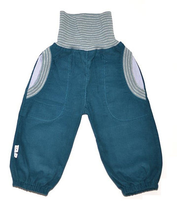 Bio Cord-Pumphose - Petrol /Bio Pants Petrol