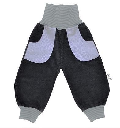 Bio Cord-Pumphose - Schiefergrau/ Bio Pants - Slategrey Bio
