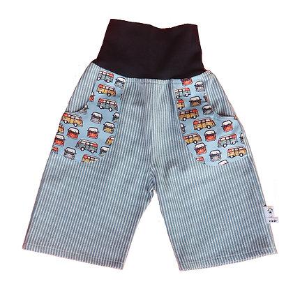 Jeans-Pumphose  3/4 - Sommerreise/pants 3/4 summer trip