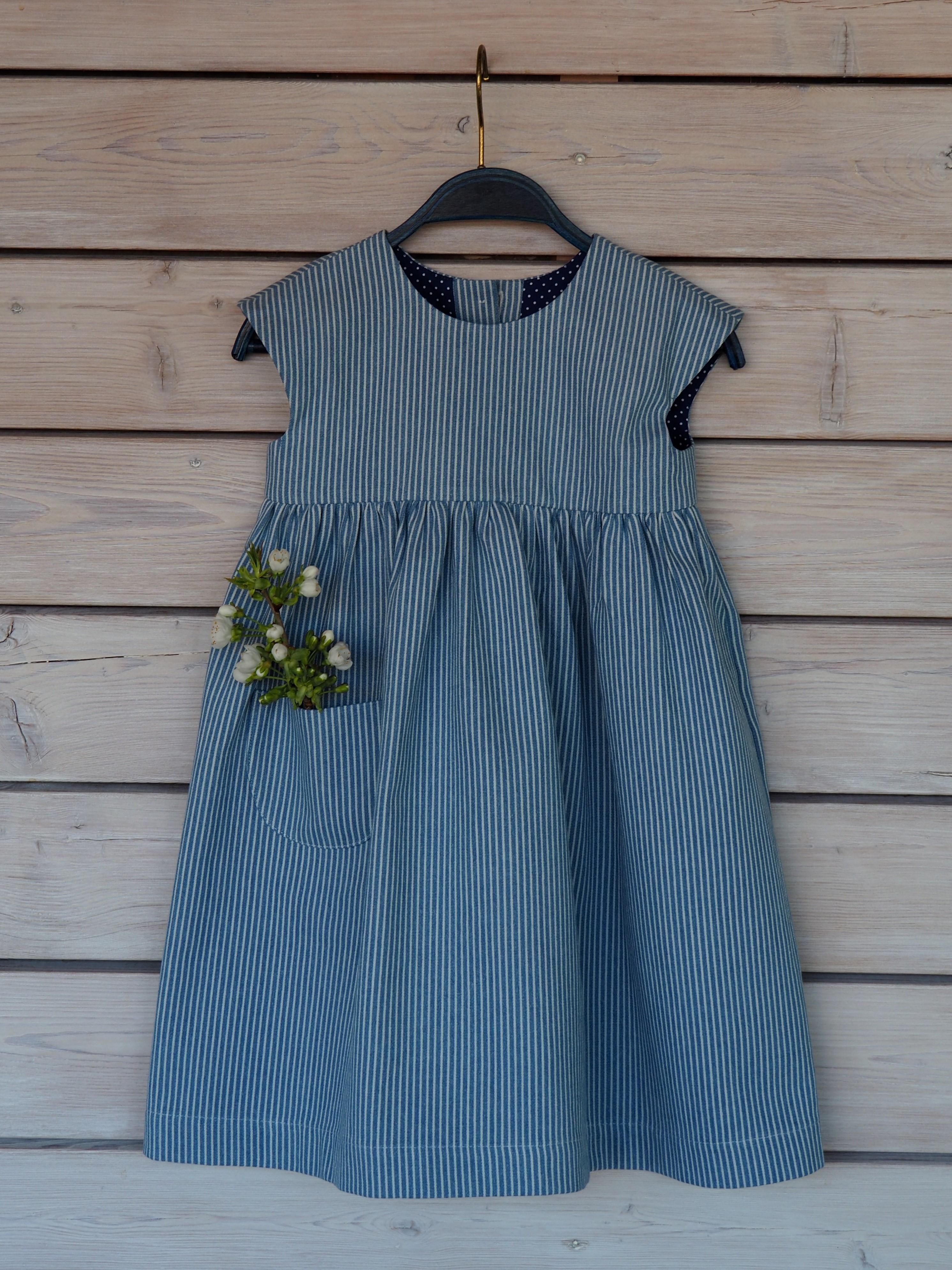 Jeansrock - hellblau / jeans dress - sky blue