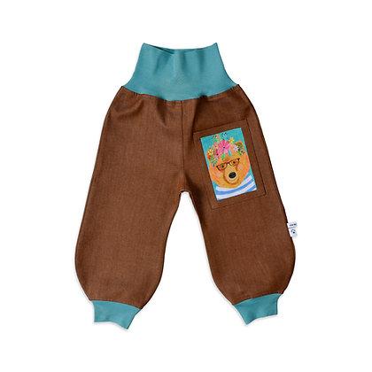 Jeans-Pumphose - Karneval der Tiere /Pants Carnival of the Animals
