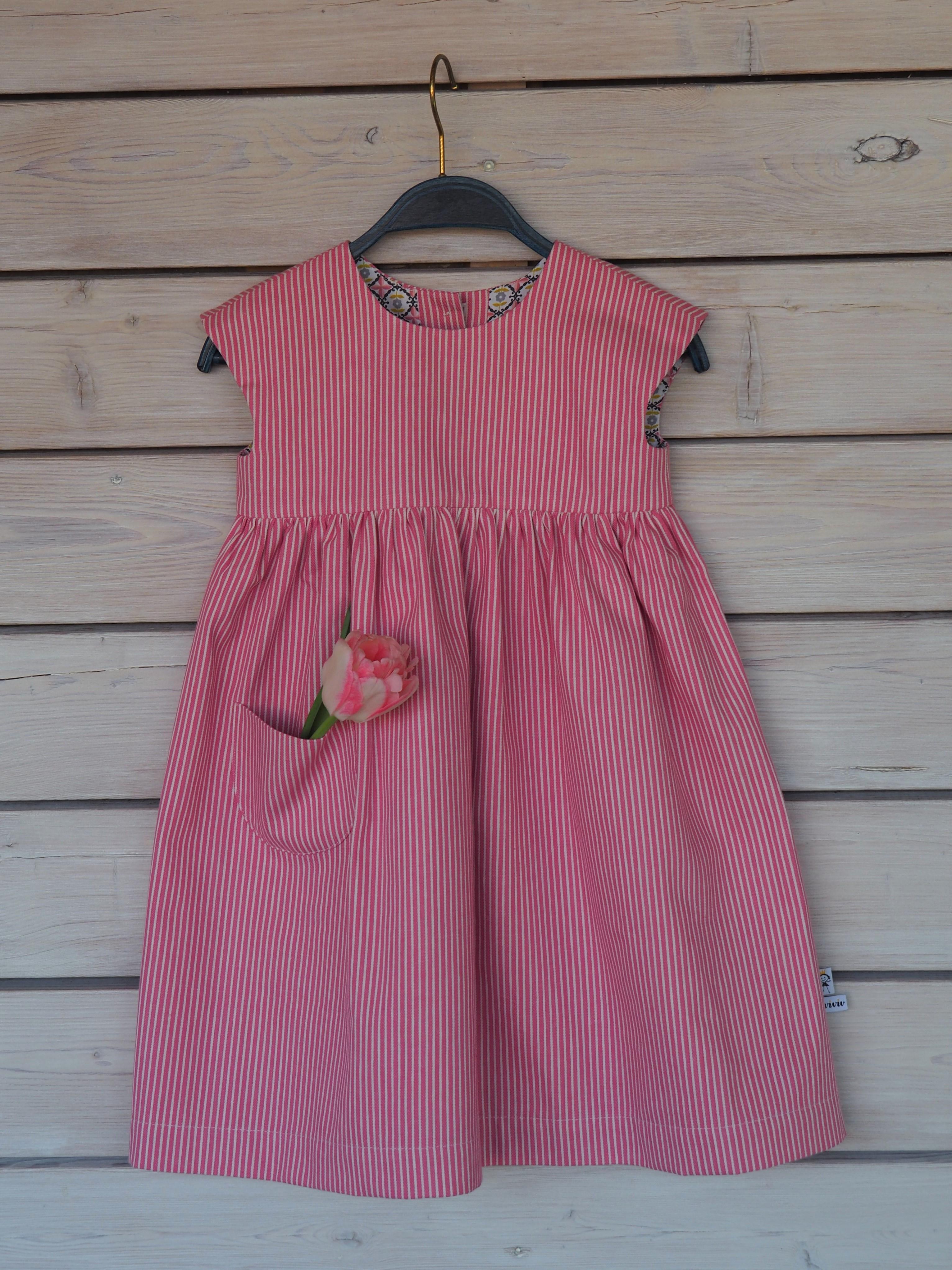 Jeansrock - rosa / jeans dress - rose