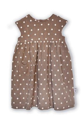 Sommerrock  - Erdbraun / Summer dress - Earth Brown