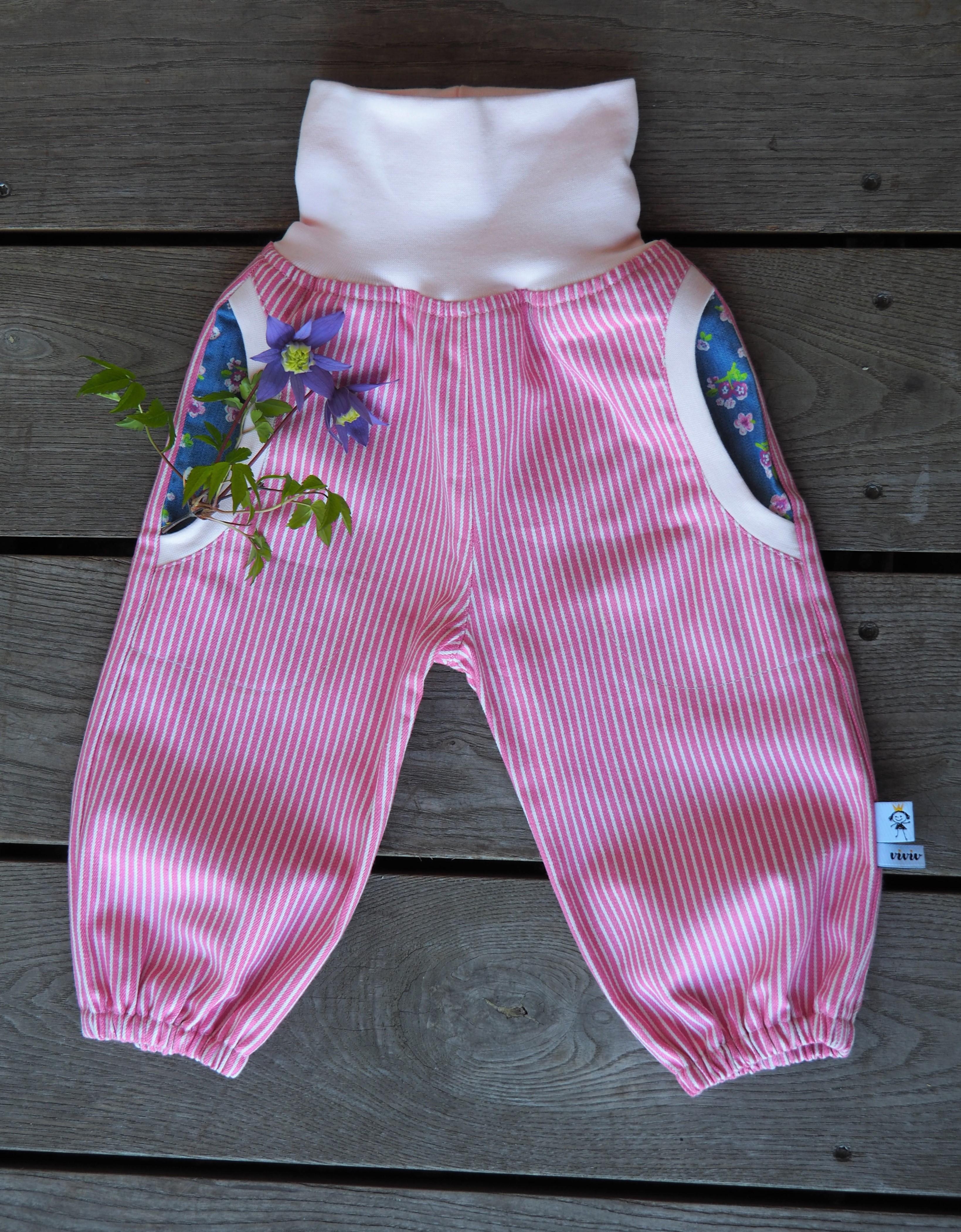 Jeans-Pumphose Kirschblüten - /Pants Cherry Blossom