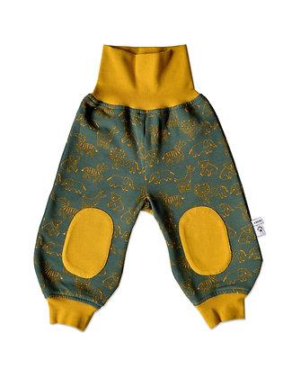 Bio Sweatjersey-Pumphose - Tiere/ Pants - animals