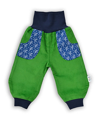 Bio Cord-Pumphose Sterntaler grün /Bio corduroy pants Star-Money green