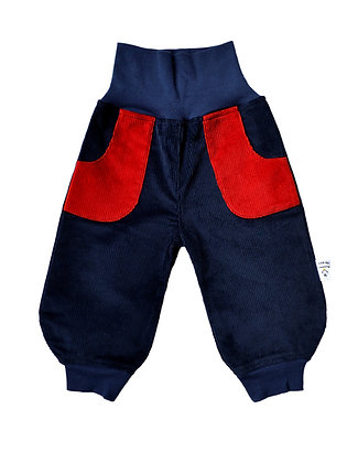 Bio Cord-Pumphose Genua rot/ bio pants Genua red