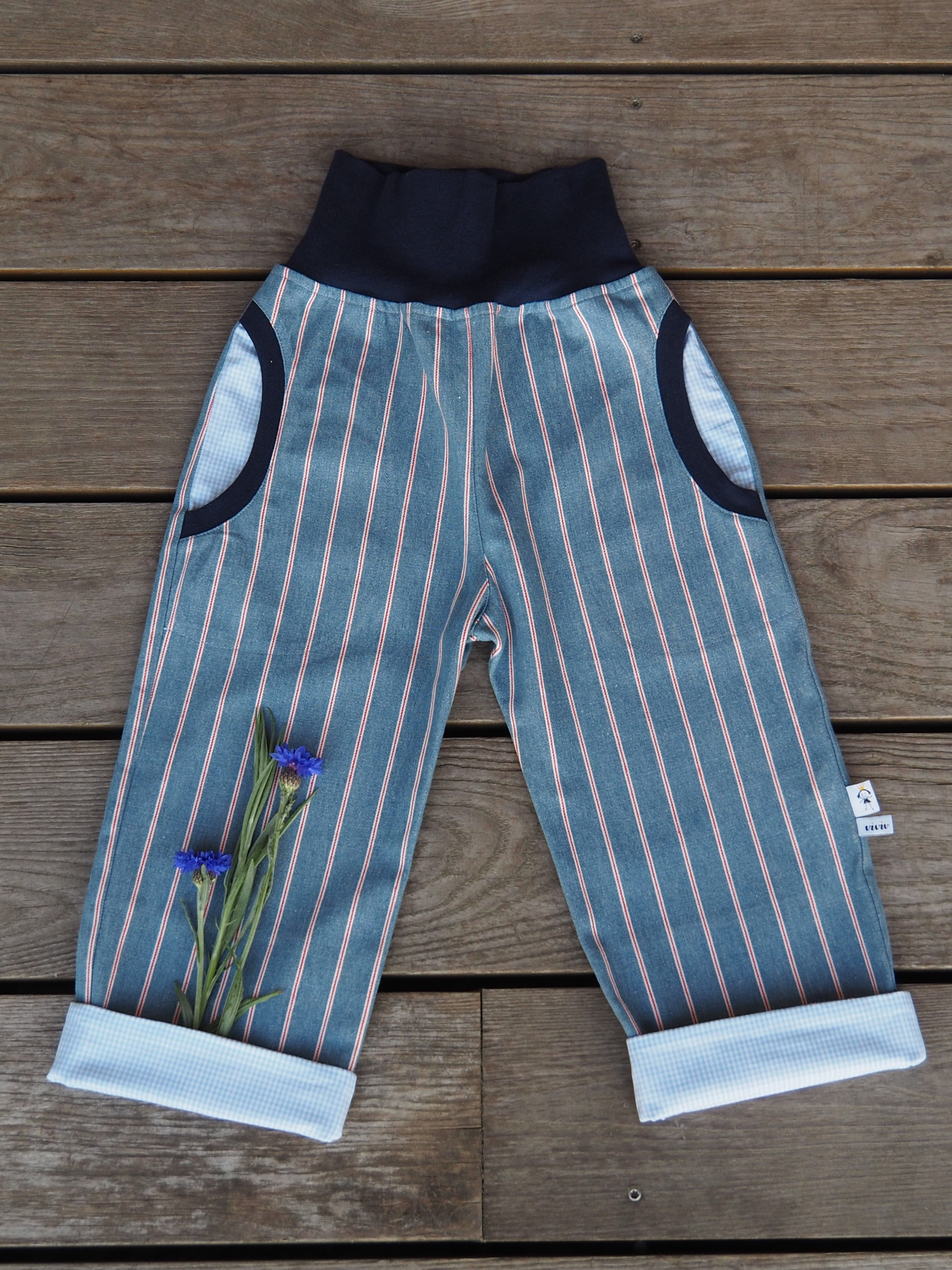 Jeans-Mitwachshose  Élégance- /Jeans Pants  Élégance