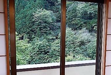部屋から外の写真