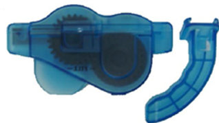 Chain Cleaner with 6 Brushes