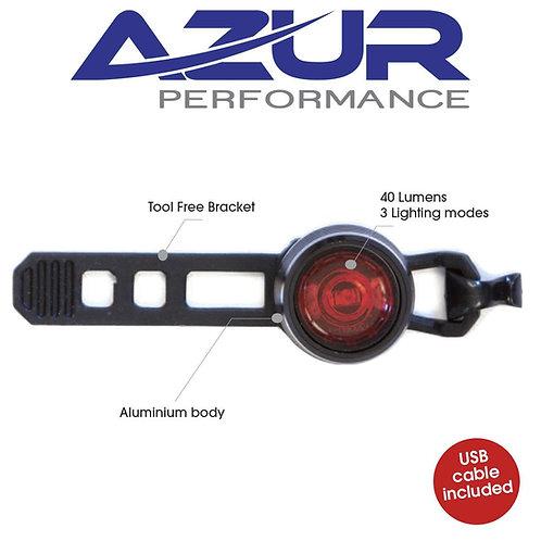 Azur USB Cyclops 25 Lumens Rear Light