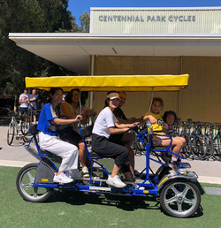 4-Seater Pedal Car