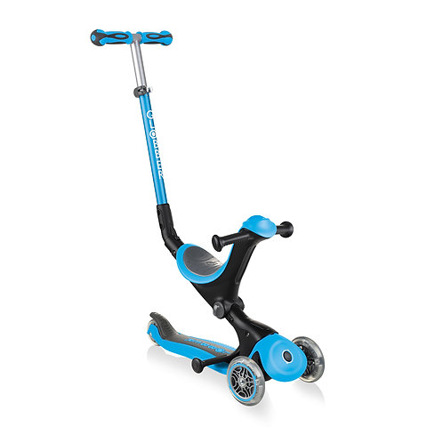 Globber Go Up Deluxe Convertible Scooter