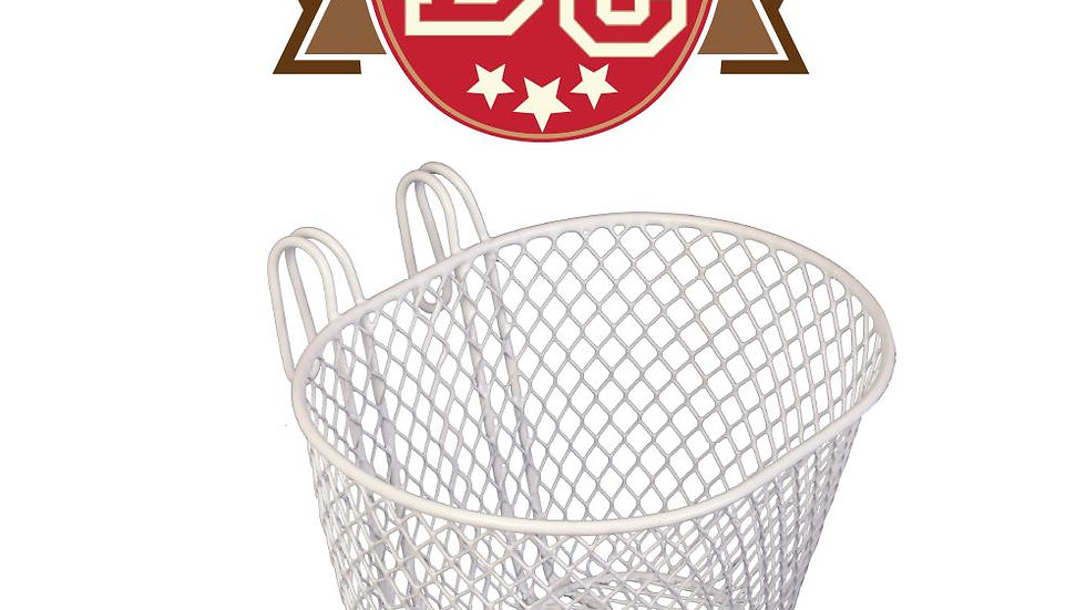 Kids Front Mesh Basket with Hooks