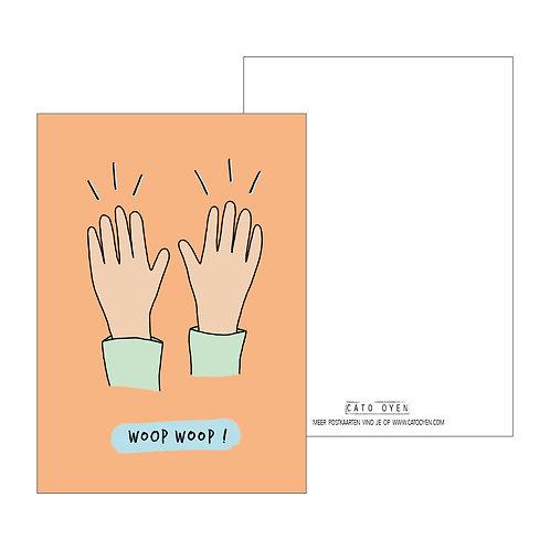 postkaart: WOOPWOOP