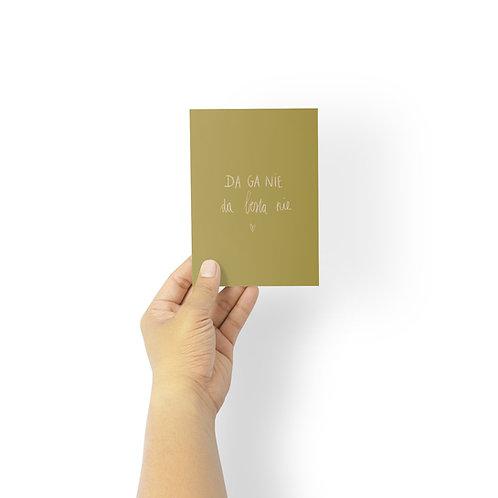 Postkaart : da ga nie besta nie