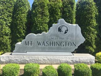 Welcome to Mount Washington, Kentucky landmarker
