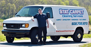Stat Carpet Cleaning Van