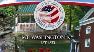 city of mount washington, Kentucky logo