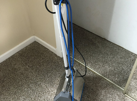 Carpet Cleaning with CRB (Counter Rotating Brush)