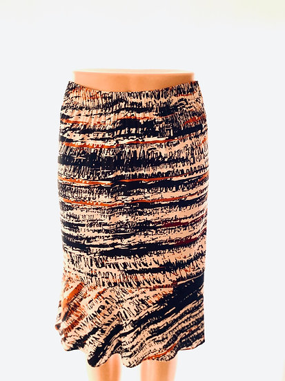 Blk/Beige Stripe Skirt 1, 2, 3