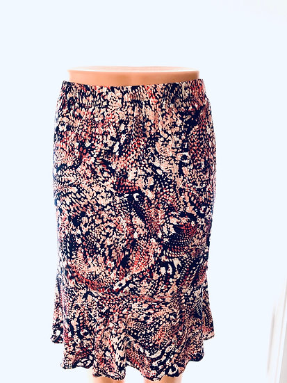 Pink Dots Skirt Size-1