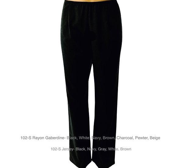102-S Slim Leg Skinny Elastic- Jersey knit ( 1-2 weeks )