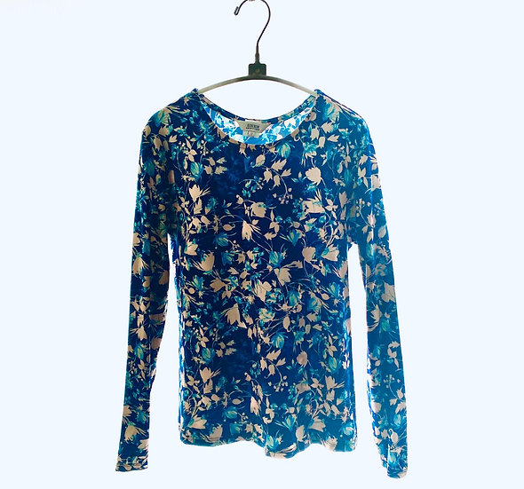 Navy/Turquoise Top 0, 1, 2, 3