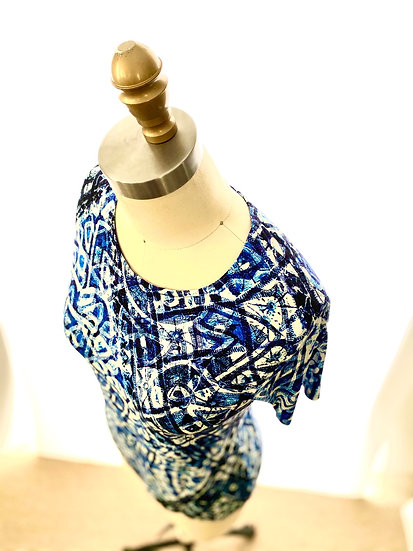 Indigo Tie Dye s/s 0, 1